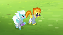 Spitfire and Fleetfoot sees Soarin falling S4E10