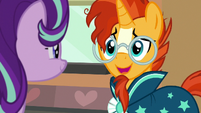 "Sunburst ""you'll be the first to know"" S7E24"