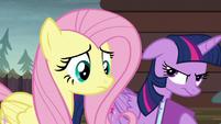 Twilight Sparkle getting annoyed S5E23