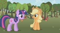 Twilight and AJ -I just did- S1E04