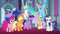 """Twilight and Fluttershy """"pretended?!"""" S9E2"""