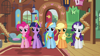 Twilight and friends angry at Discord S03E10