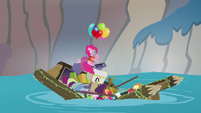 Apple family raft collapsing S4E09