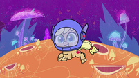 Applejack as an astronaut PLS1E3a