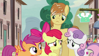 Crusaders unsure about helping Feather Bangs S7E8