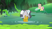 Fluttershy asks Zecora if she's all right S7E20