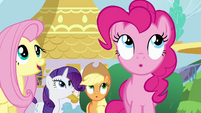 Pinkie Pie surprised S4E01