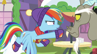 """Rainbow """"known her a lot longer than you"""" MLPBGE"""