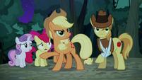 S05E06 Applejack zatrzymuje Znaczkową Ligę