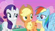 S06E14 Rarity, AJ i Rainbow są umówione