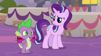 """Spike """"we wanted to give this to you"""" S9E26"""