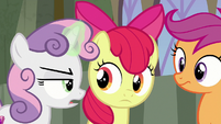 Sweetie Belle mentions sea monsters S8E6