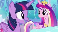 Twilight --I can help keep tabs on her magic-- S6E1