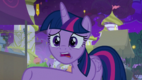 """Twilight Sparkle """"why didn't you tell me?"""" S9E17"""