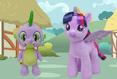 Twilight and Spike Build-A-Bear