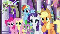 Applejack proud of Twilight Sparkle S9E17
