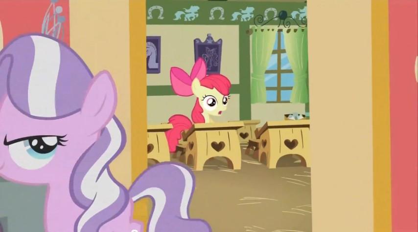 Diamond Tiara walks out of classroom S02E12.jpg