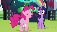"""Pinkie '""""the biggest pony pop star in all of Equestria"""" S5E24"""