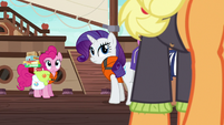 Pinkie Pie and Rarity look back at Applejack S6E22