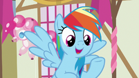 Rainbow -if anything could help Pinkie Pie- S8E18