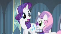 "Rarity ""wherever did you come up"" S4E19"