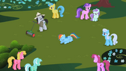 S02E08 Kucyki patrzą na Rainbow Dash