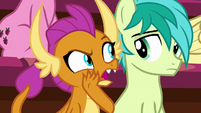 """Smolder """"is that a pony thing?"""" S8E15"""