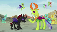 Thorax -you certainly don't act like it- S7E17