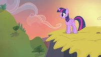 Twilight on top of hill S4E11