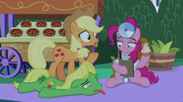 """Applejack """"maybe the food?"""" S9E17"""