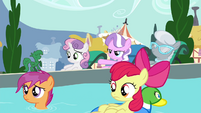 """Diamond Tiara """"all the ponies we're keeping out"""" S4E15"""