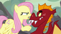 """Fluttershy """"Spike is stronger than you"""" S9E9"""