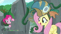 Fluttershy returns with Meadowbrook's mask S7E25