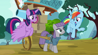 """Rainbow """"why would she want to go live"""" S8E18"""