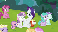 """Rarity """"like no time has passed at all"""" S7E6"""