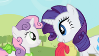 """Rarity and Sweetie Belle """"I did it for us"""" S02E05"""
