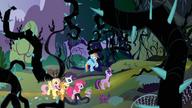 S04E02 Bohaterowie wchodzą do lasu
