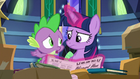 """Spike """"I thought we'd all be ruling"""" S9E26"""