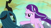"""Starlight Glimmer """"run away and seek revenge"""" S6E26"""