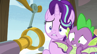 Starlight and Spike worried about students S8E15