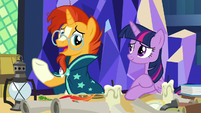 "Sunburst ""it loses something in the translation"" S7E24"