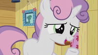 Sweetie Belle -we kind of overheard you yesterday- S5E18
