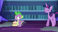 "Twilight Sparkle ""untangled that mess of a spell"" S6E21"