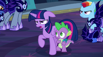 Twilight Sparkle accepts Nightmare Moon's request S5E26