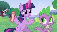 Twilight do shrug S2E25