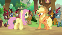 "Applejack ""givin' up all your feelin's!"" S8E23"