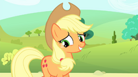 Applejack smiling S4E20