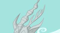 Discord's stone horns S03E10