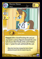 Doctor Horse, M.D. card MLP CCG.png