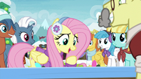 Fluttershy -wouldn't wanna miss out on that- MLPBGE